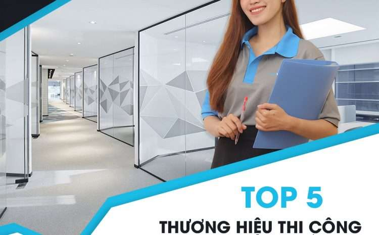 Top 5 thương hiệu thi công vách kính cố định nhôm xingfa uy tín tại TP.HCM